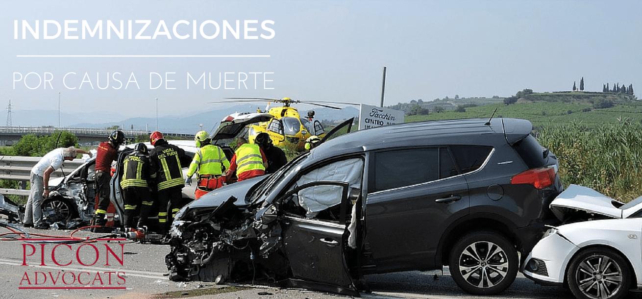 indemnizaciones accidente trafico: