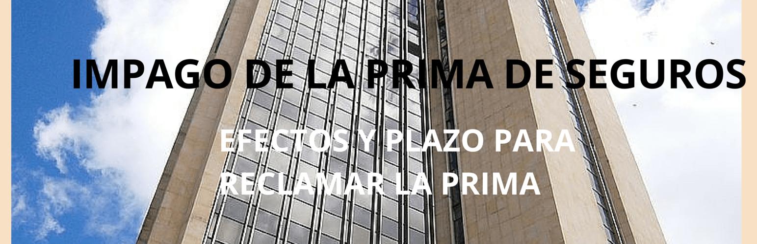 PRIMA DEL SEGURO