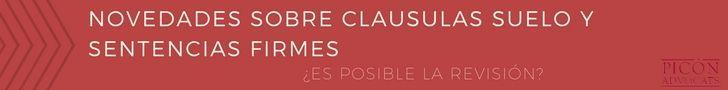 Novedades sobre cl usulas suelo y efectos retroactivos for Sentencia clausula suelo 2016